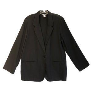 Sag Harbor Lightweight Black Jacket